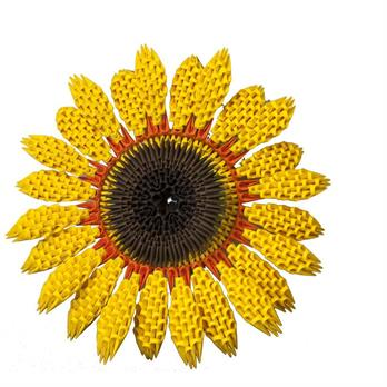 3-D Origami Sunflower