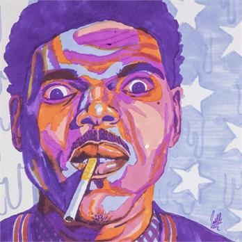Chance the Rapper by Jack M.
