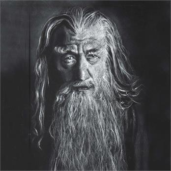 Gandalf the Gray by Glory R.