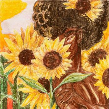 Sunflower Woman